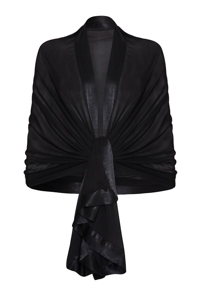 Zara Shawl Black