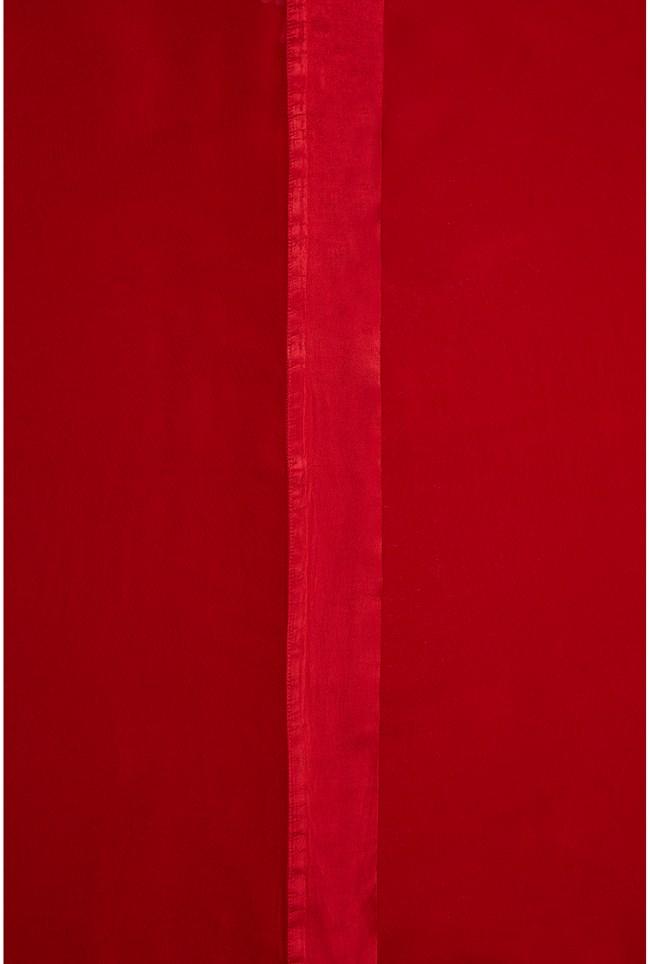 Zara Shawl Chilli Red