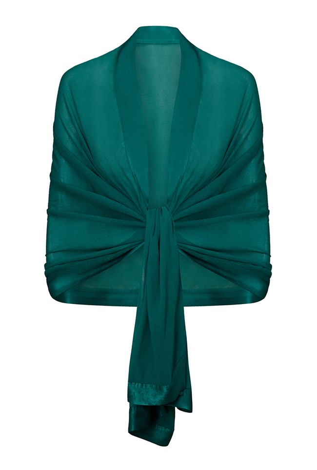 Zara Shawl Emerald Sea