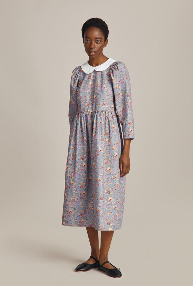 1900s Edwardian Dresses, 1910s Dresses Alora Dress £149.00 AT vintagedancer.com