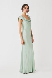 Sylvia Dress Dusty Green