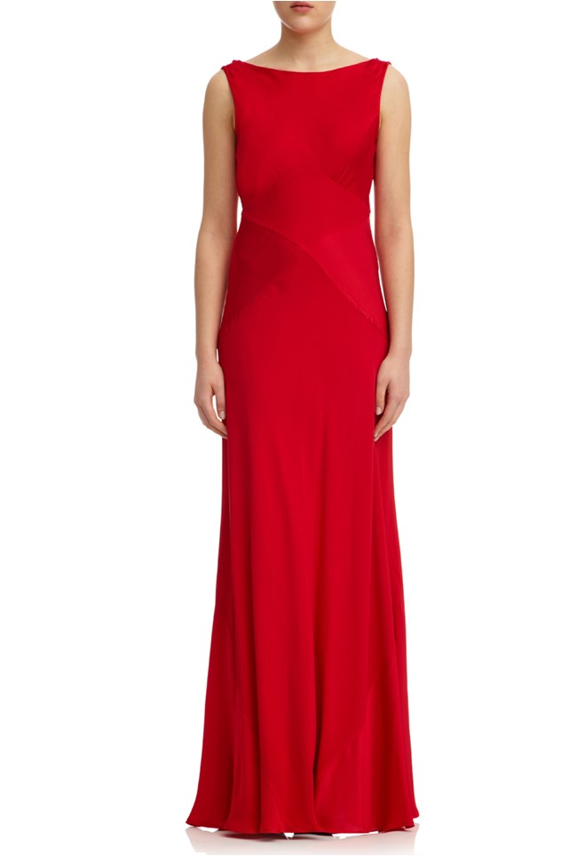 Taylor Dress Poinsettia