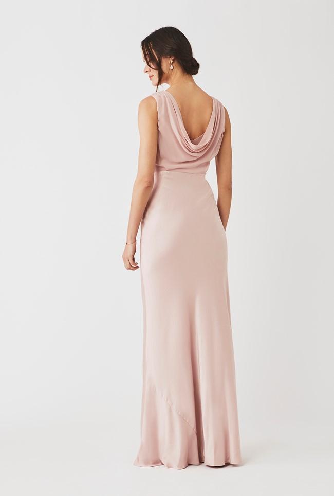 Claudia Dress Boudoir Pink