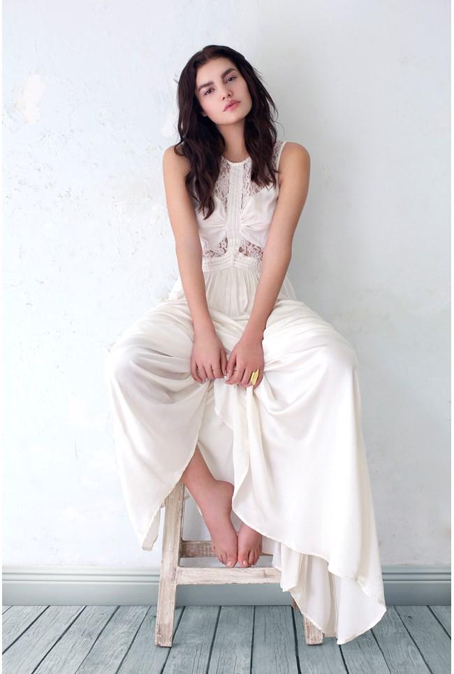 Elvita Dress Ivory