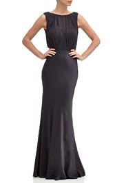 Claudia Dress Charcoal