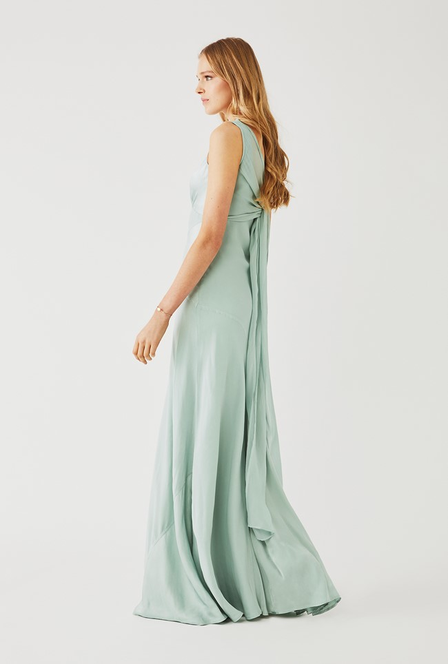 Taylor Dress Dusty Green