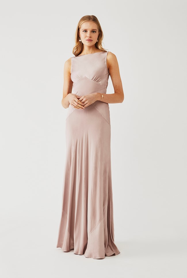Taylor Dress Taupe