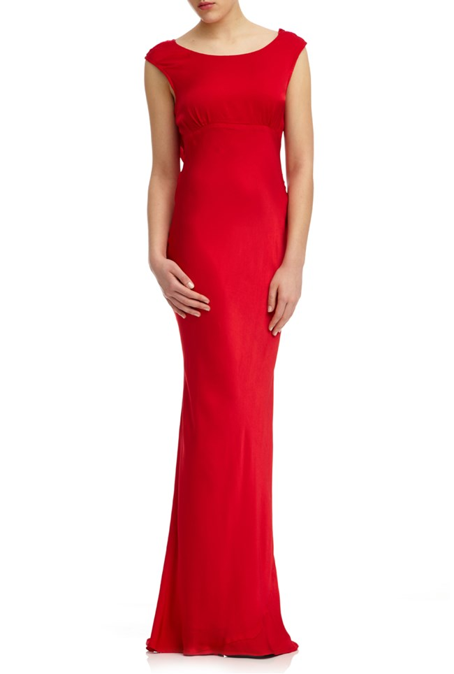 Salma Dress Poinsettia