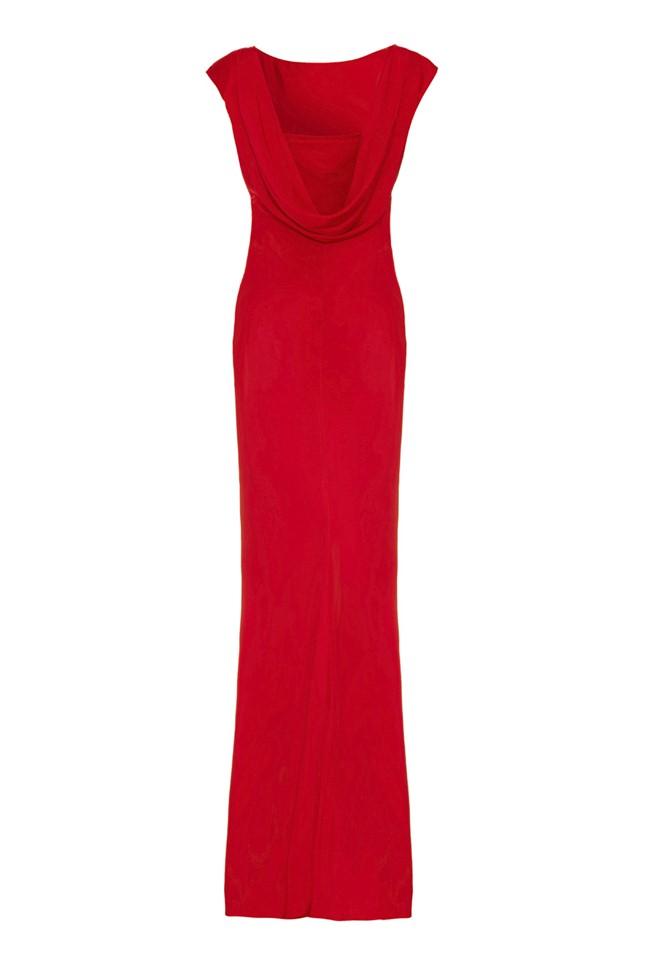Salma Dress Poinsettia