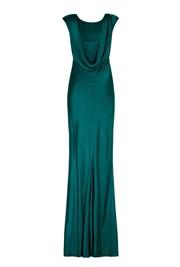 Salma Dress Emerald Sea