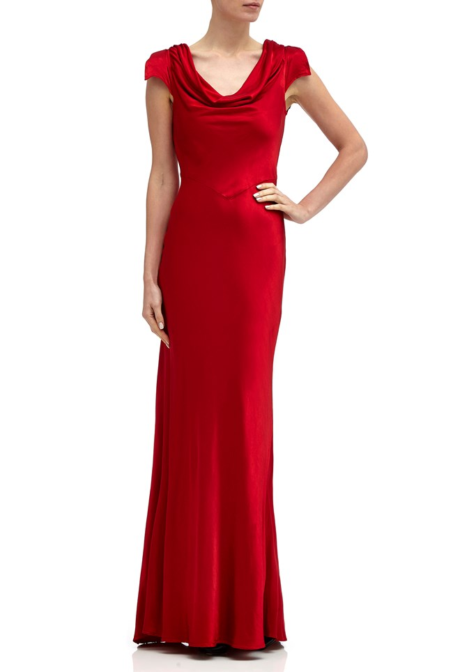 Sylvia Dress Chilli Red