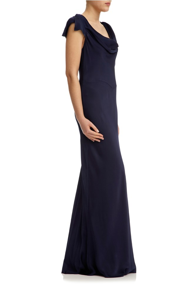 Sylvia Dress Navy