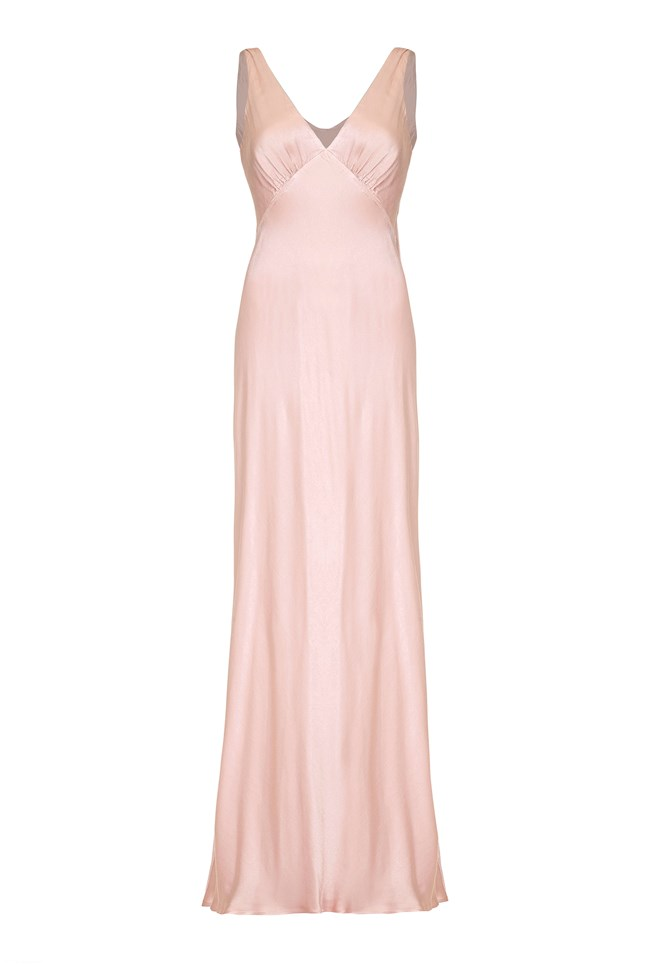 Pearl Dress Boudoir Pink