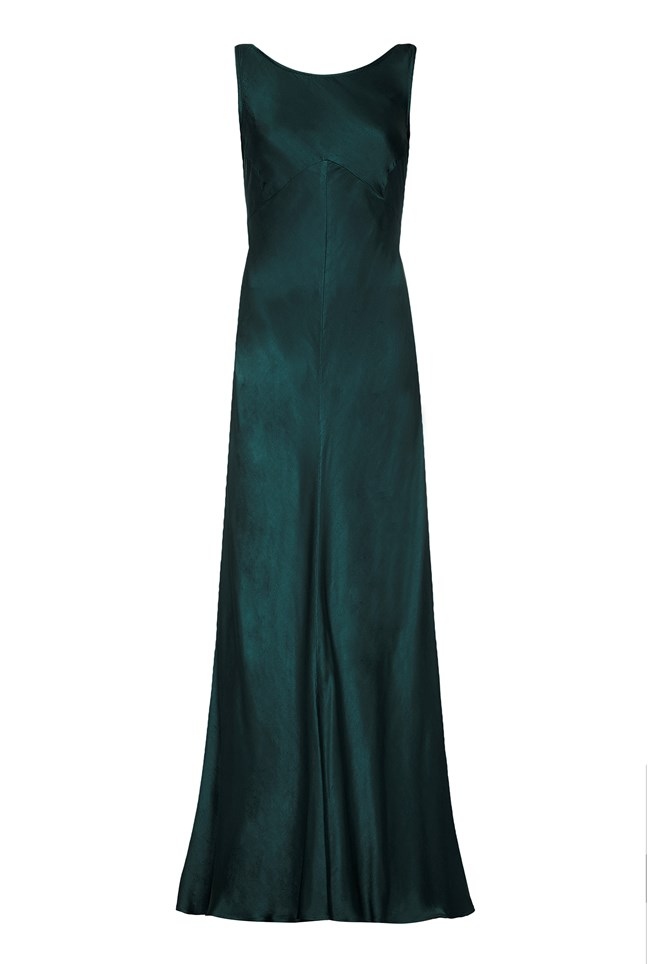 Edie Dress Emerald Sea