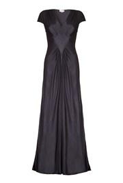Iris Dress Charcoal