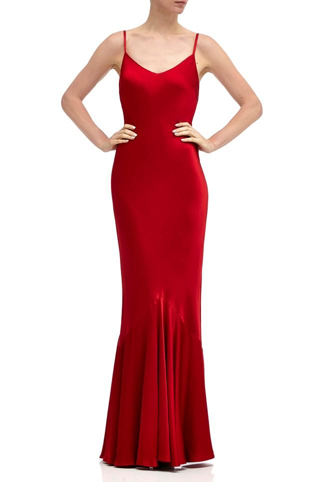 Bella Dress Chilli Red