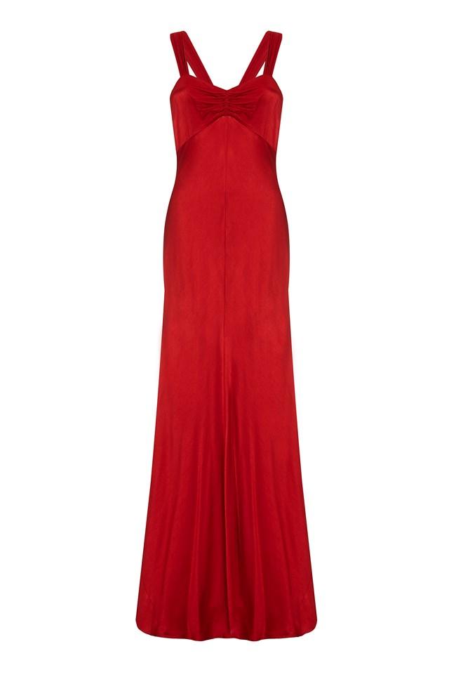 Bea Dress Chilli Red