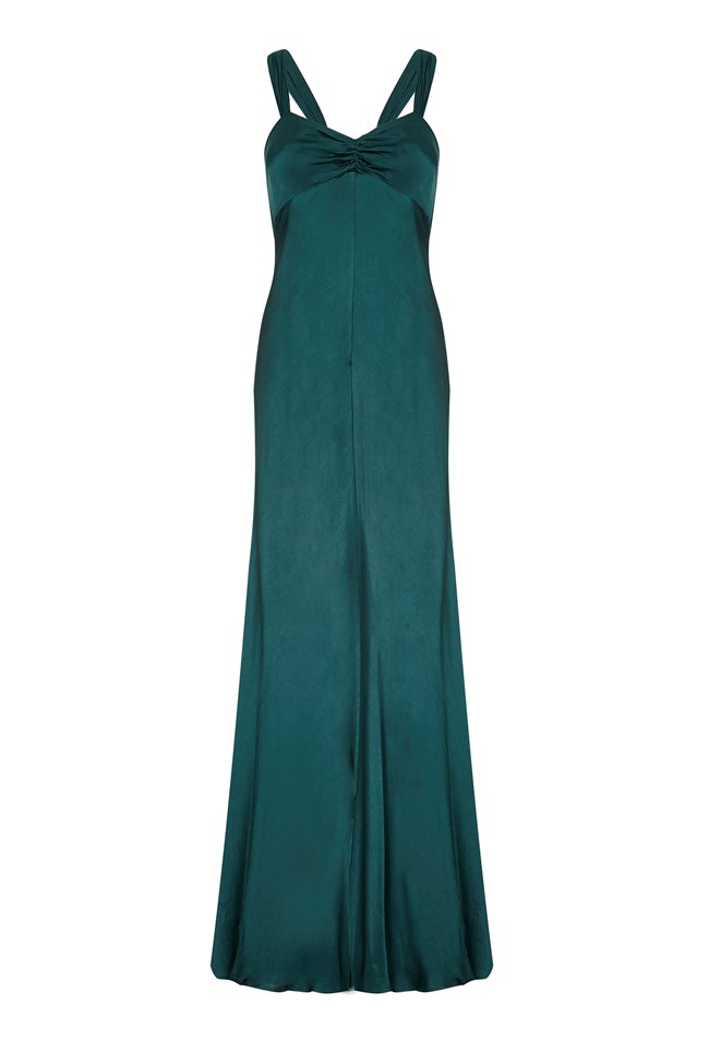 Bea Dress Emerald Sea
