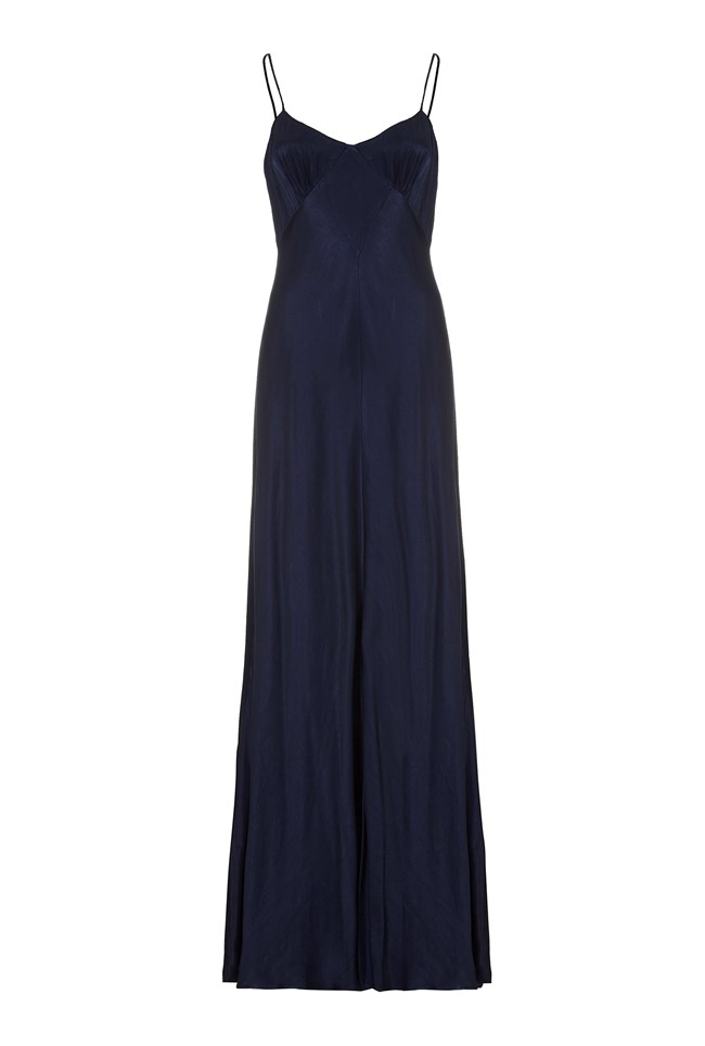 Ivy Dress Navy