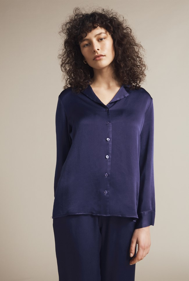 Kira Satin Shirt