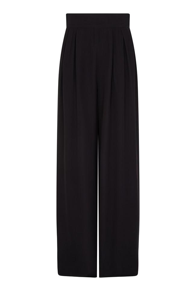 1930s Wide Leg Pants and Beach Pajamas Trudie Trouser £89.00 AT vintagedancer.com