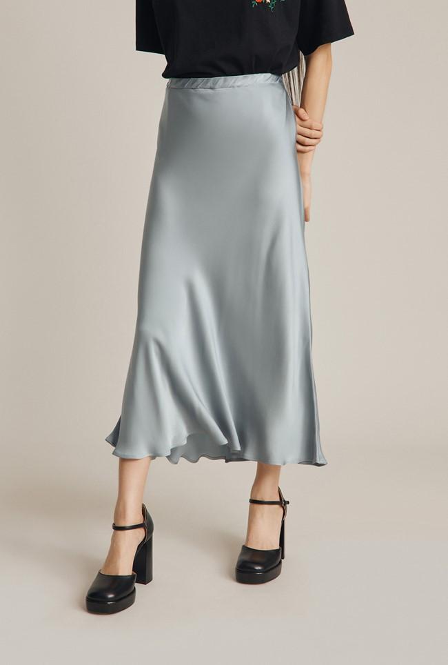 1930s Style Skirts : Midi Skirts, Tea Length, Pleated Luna Skirt £69.00 AT vintagedancer.com