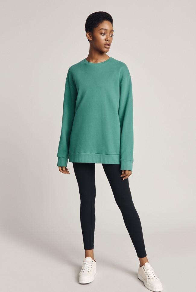 Organic Longline Sweatshirt