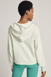 Cropped Organic Hoodie