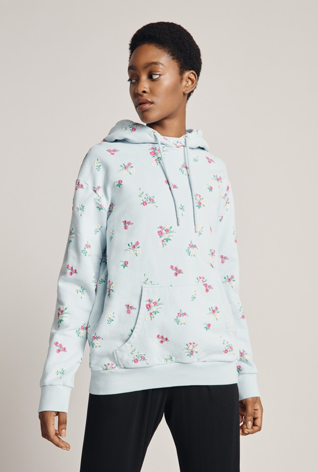 Embroidered Organic Hoodie