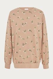 Embroidered Organic Loose Sweatshirt