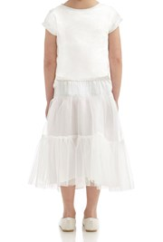 Alice Tutu Skirt - Winter White