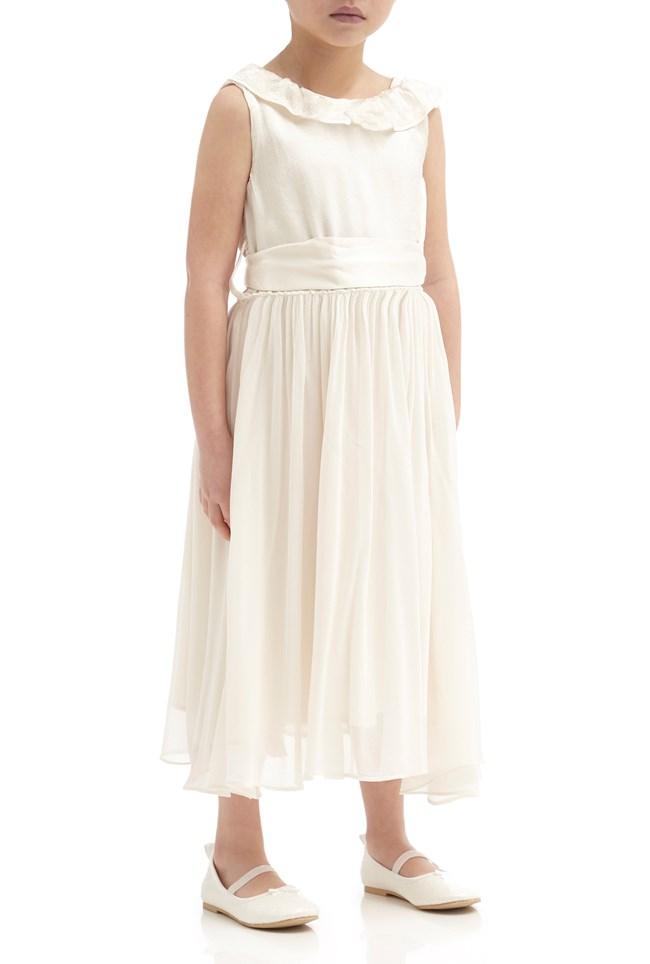 Freya Flower Girl Dress - Ivory