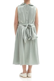 Millie Flower Girl Dress -  Dusty Green