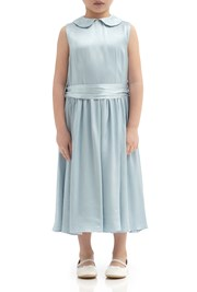 Millie Flower Girl Dress - Sky Light