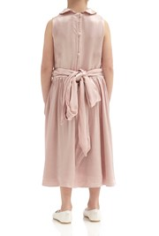Millie Flower Girl Dress - Boudoir Pink