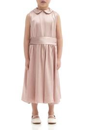 Millie Flower Girl Dress - Boudoir Pink