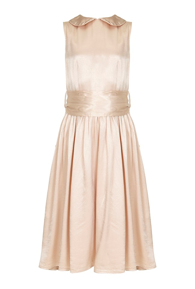 Millie Flower Girl Dress - Oyster