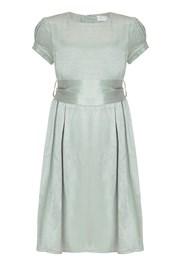 Mia Flower Girl Dress -  Dusty Green
