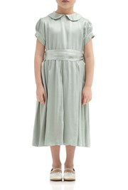 Florence Flower Girl Dress - Dusty Green