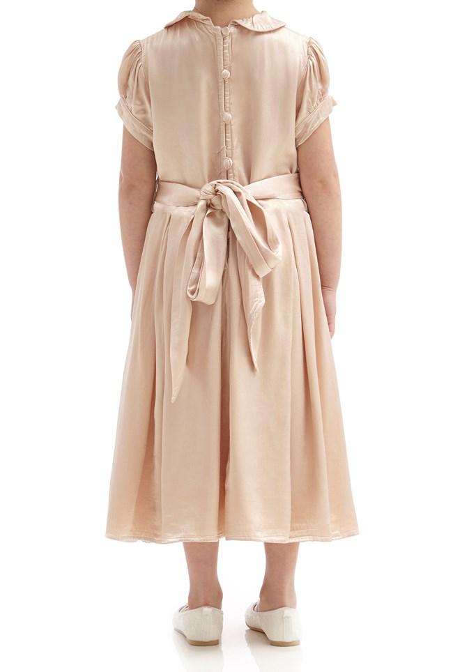 Florence Flower Girl Dress - Oyster